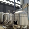 5 Year Warranty steam jacket brewery kettle 2500l commercial beer brewing equipment