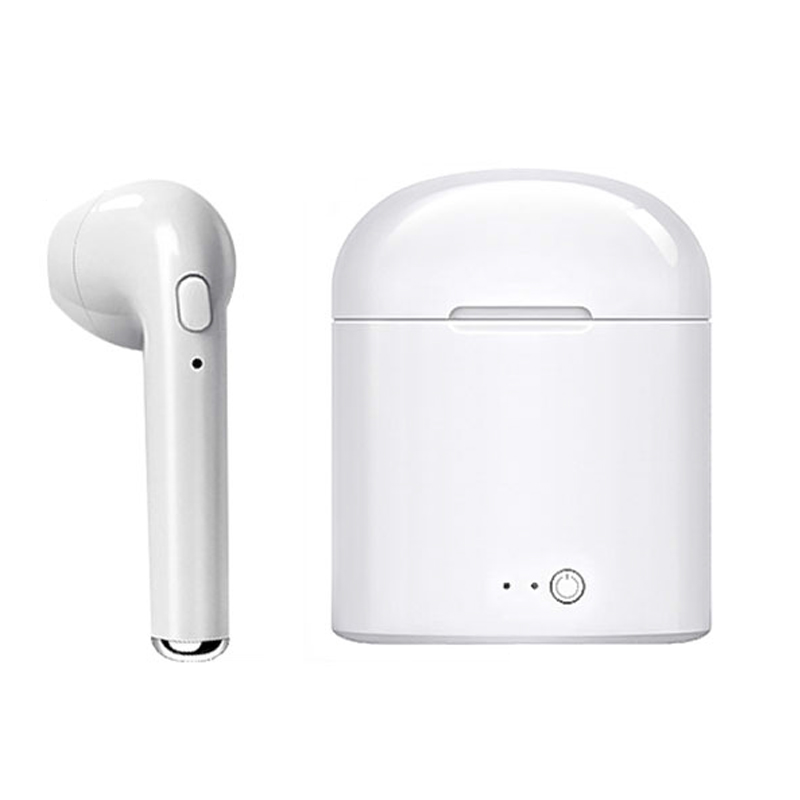 Free <strong>Sample</strong> i7s free shipping stereo earbuds wireless BT headphone mini sport tws earphone for mobile phone
