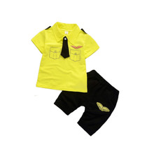 2019 new kids short suit boys clothing 2 pcs <strong>set</strong> <strong>children</strong> summer necktie <strong>set</strong>
