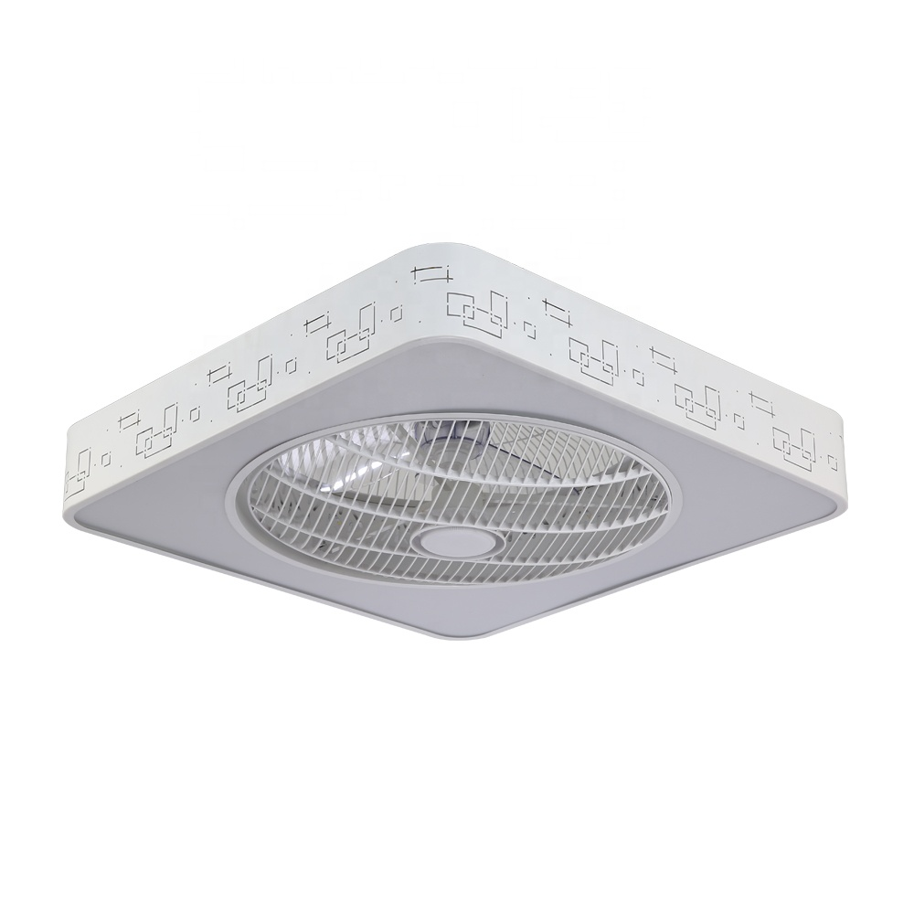Cheap Price Light Dimming Home Appliance Ceiling <strong>Fan</strong> With Light 3 Blade Leaf Square Low Power Consumption Saving