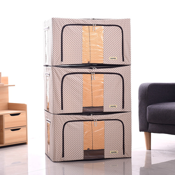 Discount Stocked Convenient Useful Printed  Foldable Storage Box