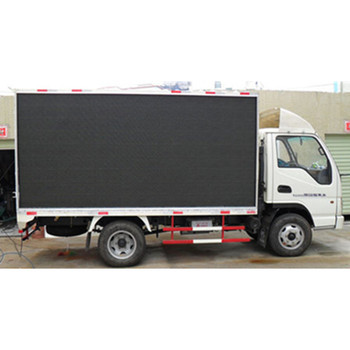Outdoor p10 Mobile Truck Mounted LED Display Screen Video Advertising