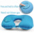 Custom Foldable Chin Neck Support Pillows U Shaped Airplane Travel Pillow Office Neck Pillow