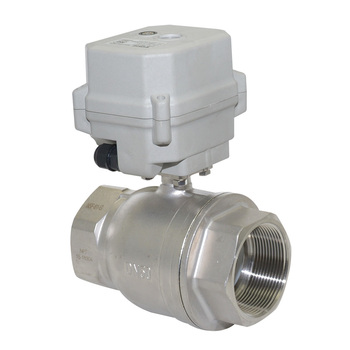 A150 series 4-20mA Proportional electric  Ball Valve with manual override