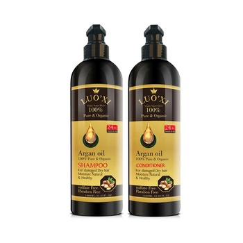 OEM/ODM 1000ML Sulfate and paraben free Argan oil hair conditioner for damaged dry hair moisturizing
