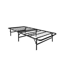 Steel Folding Platform Bed Base Mattress Foundation Metal Bed Frame for adult