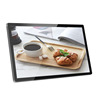China electronic product advertising 32inch self-service kiosk at restaurant
