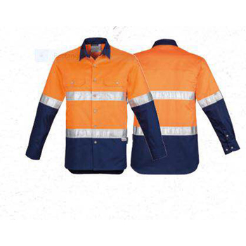 Antistatic Flame retardant and waterproof reflective work uniform