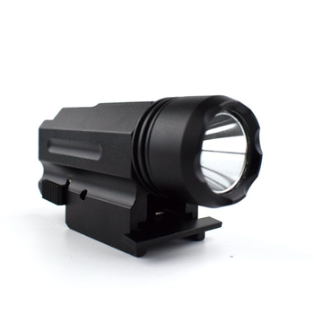 20 mm Picatinny Rail Waterproof LED Torch Tactical X100 Flashlight For Glock Pistol
