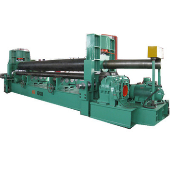 W11-3x3200 Symmetrical 3 Roller Plate Bending Rolling Machine For Steel Sheet