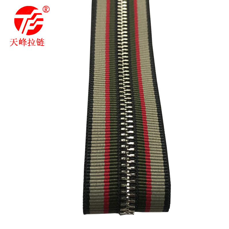 metal zipper <strong>3</strong>#<strong>Y</strong> teeth bright silver golden color metal code loading hardware accessories Factory Direct various colours are ava