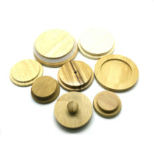 wooden and bamboo and pine lid for jar or bottle <strong>caps</strong>