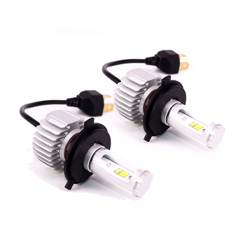 New arrival 5 color available 3600LM led lights motorcycle bulb 360 adjustable socket Seoul Y19 chip h4 fanless led headlight
