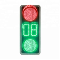 Hot Sale Smart Traffic Light System Solar Blinker 300Mm Led Traffic Light Signal