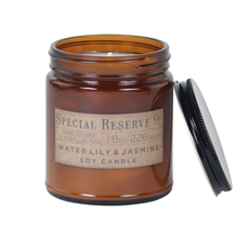 Custom Round Large Wide Mouth Straight Side 8 oz 250ml Candle Amber Squat <strong>Glass</strong> <strong>Jar</strong> with lid