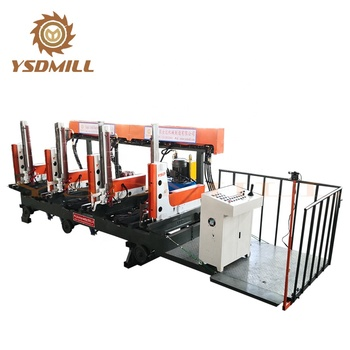 New style precision woodworking CNC hydraulic log carriage