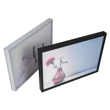 <strong>10</strong> <strong>x</strong> 7 photo frame picture frame parts magnetic rotating photo frame