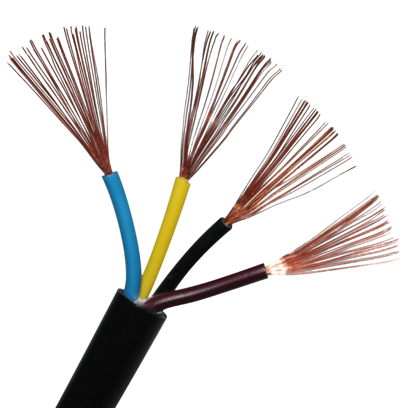 3*1.5mm 2.5mm 4mm Flexible Copper Wire Price China Manufacturer Multicore Electrical <strong>Cable</strong> Wire
