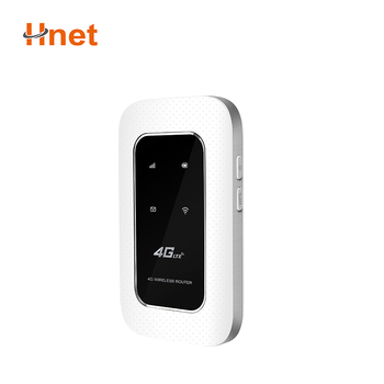 Pocket size mobile hotspot wifi 4g router with sim card slot