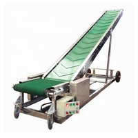 Newest Aluminium Mobile Active Roller Belt Conveyor