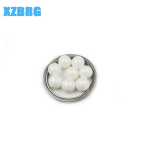 G40 white polished 22.225mm precision zirconia beads ceramic ball
