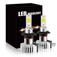 Super bright H7 socket LED headlight bulbs 60w 1200 lumen
