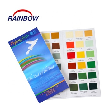 Promotional Colour swatch with nice printing