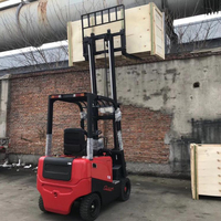 2 Mast 3 Meter Electric Forklift with Sideshift