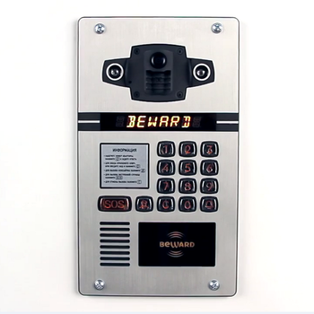 TCP/IP/SIP/Onvif MULTI apartment video door phone intercom opening systems with keypad