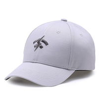 Top Quality all white baseball cap with high quality