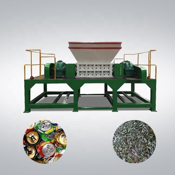 2018 Hot Sale Double Shaft used scrap metal shredder machine for sale