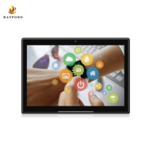 Raypodo <strong>10</strong> inch android touch screen monitor with wifi bluetooth ethernet