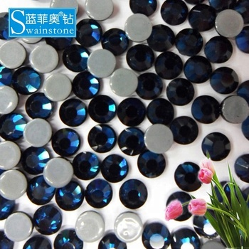 S0808 Jet ss16 4mm 200 gross garment accessory swainstone, swainstone hot fix rhinestone, hot fix rhinestone for lady's dress