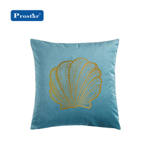 2019 High Quality Mediterrranean Style Square Printed Cushion For Indoor Use