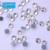 0806W China factory crystal stone ss10 hotfix light siam hot fix stones for clothes decoration