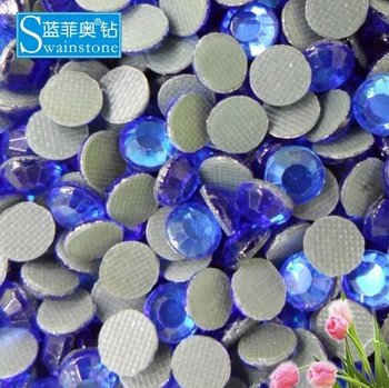 Y0831 Cobalt SS10 SS16 SS20 lead free crystal, round flatback lead free strass, lead free crystal transfer wholesale