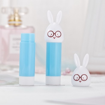 Hot sale manufacturer blue OEM empty portable cute cheap lipstick tube