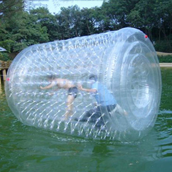 Hot Sale Clear Water Ball Transparent Inflatable Water Rolling Ball for Adults