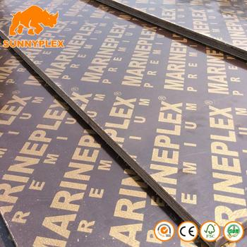 18mm best price black brown finger joint film faced plywood