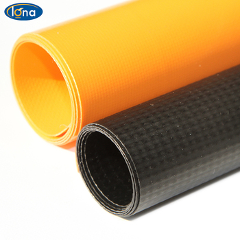 Low price pvc coated polyester fabric 1000d pvc coated fabric PVC coated