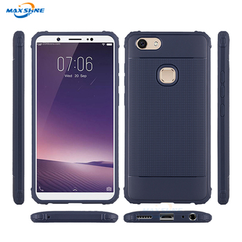 Maxshine TPU Flexible Rubik's Cube Texture Protective Soft  Case  For Vivo V7