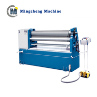 W11 8 x 2500 mechanical 3 Roller sheet metal hydraulic plate bending machine