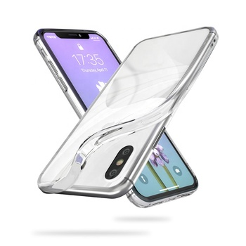 Free Sample Ultra-Thin Transparent TPU back Case for iphone X