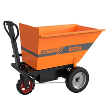 Electric Hand Pushed Engineering Dump Truck Electric Handling Tool Car Coal Transport Vehicle