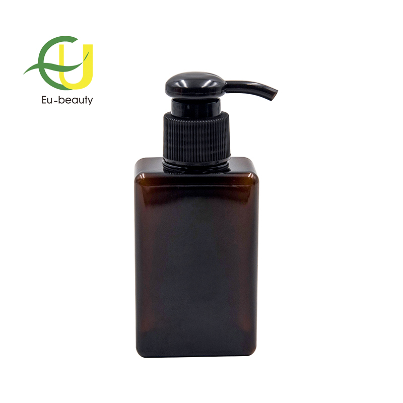 250ml plastic square PETG bottle soap foam pump bottle