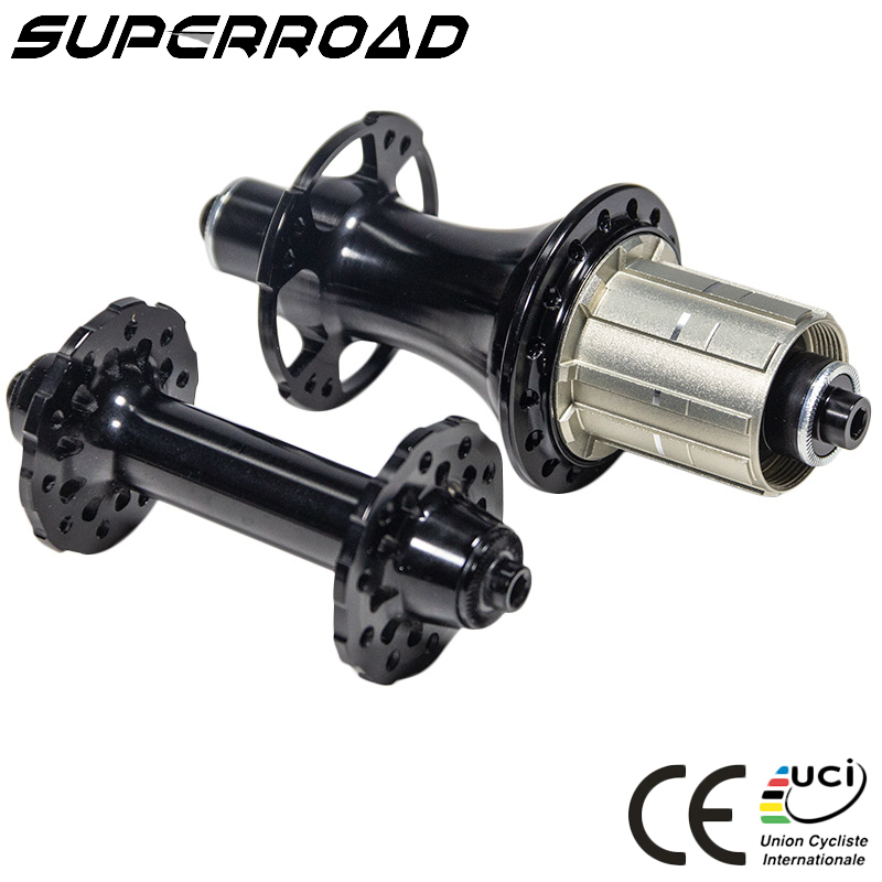 Lightweight Carbon Road Bike Hub <strong>20</strong> 24H Powerway R13 <strong>J</strong> V Brake Front And Rear Hub Bicycle With Enduro Bearings