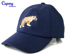 Navy blue melton wool 6 panel style warm baseball <strong>cap</strong>, flat embroidery unstructured front panel baseball <strong>cap</strong>