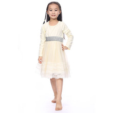 Children <strong>Dresses</strong> Chiffon Lace Winter Fall Autumn Kids Clothing <strong>Girl's</strong> <strong>Dresses</strong>