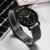 612 Fashion Brand Geneva Mesh Belt Quartz Vogue Wrist Watch For Unisex reloj de hombre