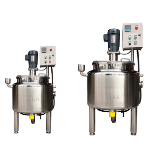 stainless steel electric heating brown sugar melting tank syrup mixing tank with agitator
